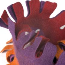 punainen kaulahuivi